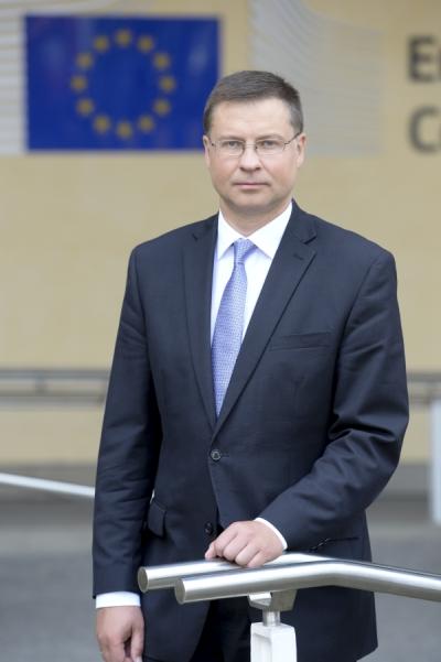 Valdis Dombrovskis portré